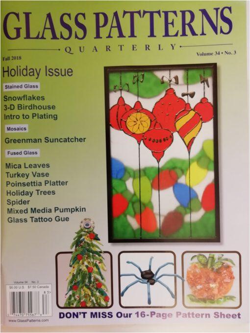 Glass Patterns Quarterly Ausgabe 34/N°3